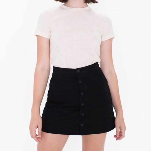 b62f23e43c American Apparel denim button down skirt. M_5a636a846bf5a6f549a30303